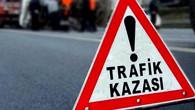Aksaray'da otomobil tıra çarptı: 4 yaralı