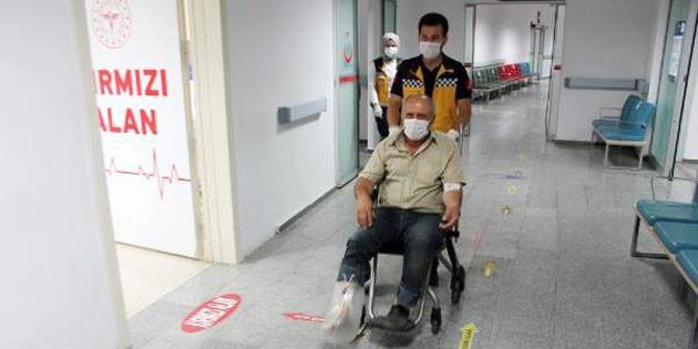 Aksaray'da acemi kasaplar hastanelik oldu