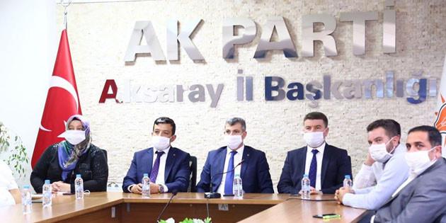 Cumhurbaşkanı Erdoğan, AK Parti'nin 81 il teşkilatıyla bayramlaştı