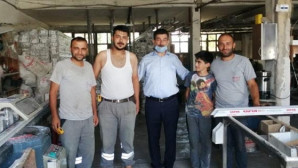 Milletvekili Ayhan Erel vatandaşla buluştu