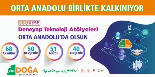 Aksaray'da Deneyap Teknoloji Atölyesi kuruluyor
