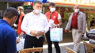 Dinçer: 1 milyonun üzerinde maske üretimi yaptık