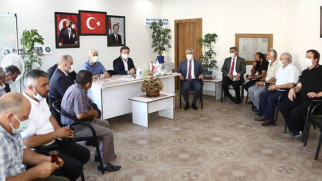 Vali Aydoğdu mahalle muhtarlarından destek istedi
