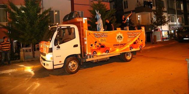 Aksaray Belediyesi bayram boyunca müzik ziyafeti sunuyor