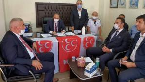 MHP Ağaçören ve Sarıyahşi kongreleri yapıldı