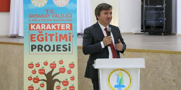 Aksaray'da okul öncesi öğrencilerine 'Karakter Eğitimi' verilecek