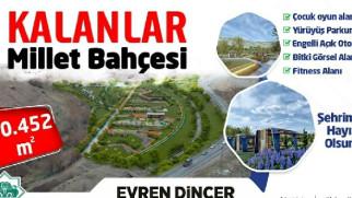 Aksaray'a Millet Bahçesi yapılıyor