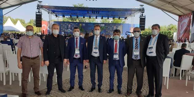 İYİ Parti Aksaray, tam kadro Ankara'daydı