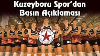 Kuzeyboru Spor Kulübü'nden basın açıklaması!
