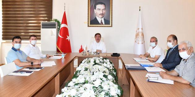 OSB Eylül ayı yönetim kurulu toplantısı gerçekleştirildi