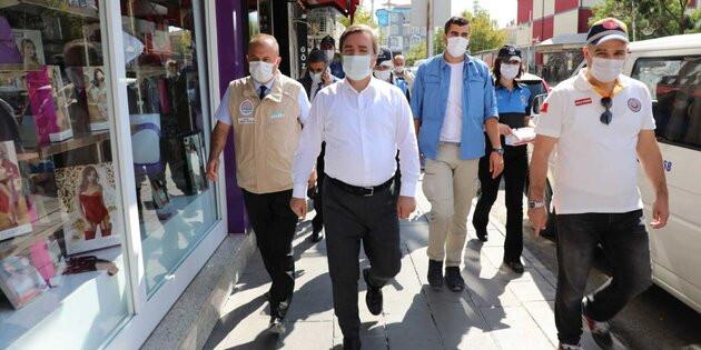 Vali Hamza Aydoğdu: Virüsü kontrol altına aldık