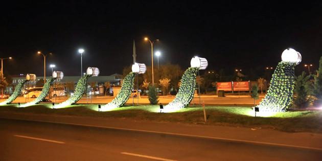 Aksaray Belediyesi'nden şehre estetik dokunuş