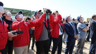Model Uydu yarışmaları Aksaray'da yapıldı