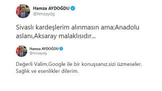 Vali Aydoğdu ile Sivas Valisi arasında 'Anadolu Aslanı' atışması!