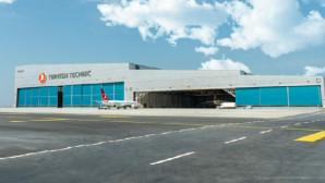 Türkiye'nin en büyük uçak bakım hangarı açıldı