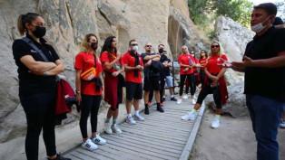 Galatasaray Kadın Voleybol Takımı Ihlara Vadisi'nde