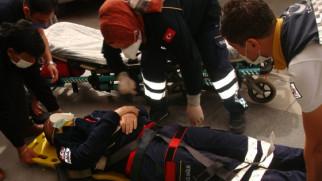 Aksaray 112 Acil Yardım Müdürü Can Cansızlar'a saldırı!