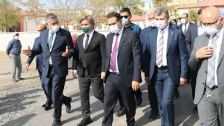 Enerji ve Tabii Kaynaklar Bakanı Fatih Dönmez Aksaray'da