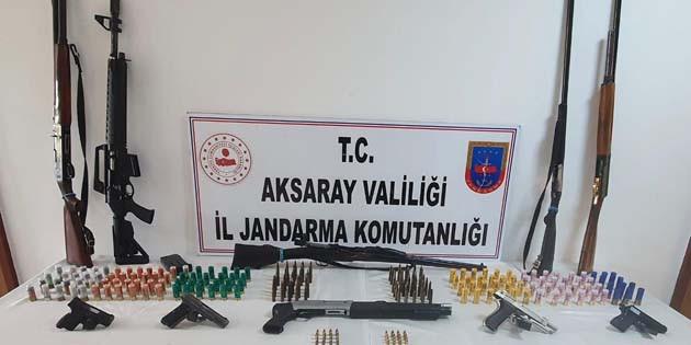 Aksaray'da silah operasyonu: 1 gözaltı