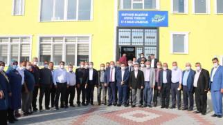 AK Partili ilçe ve belde belediye başkanları Sarıyahşi'de toplandı