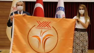 Aksaray Üniversitesi iki yılda dört bayrak ödülü aldı