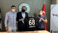 Aksaray Belediyespor'un forma sponsoru oldular