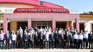 Ortaköy ilçesinde aylık istişare toplantısı yapıldı