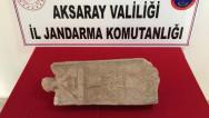 Aksaray'da tarihi eser operasyonu: 1 gözaltı