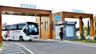 Otobüs terminali modern bir görünüme kavuştu