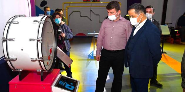 Aksaray Bilim Merkezi gençlere çok güzel fırsatlar sunacak