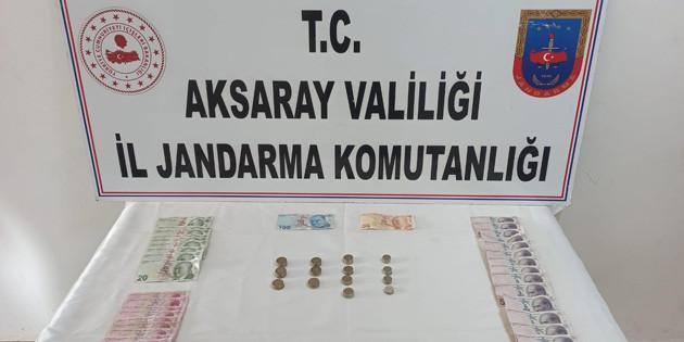 Aksaray'da camilerdeki bağış kutularını çalan hırsız yakalandı