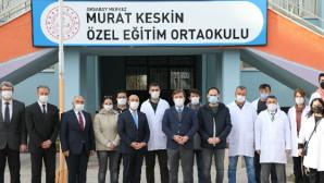 Murat Keskin hocanın ismi görev yaptığı okula verildi