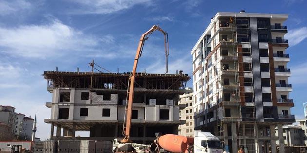 Pandemi Aksaray'da inşaat sektörünü de etkiledi