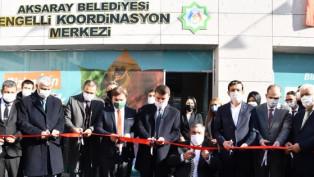 Aksaray Engelli Koordinasyon Merkezi açıldı