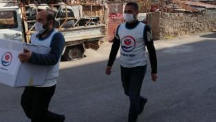 Yetimler Vakfı'ndan Aksaray'daki yetim ailelerine yardım