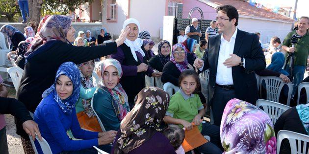 Başkan Yazgı ve Ak Parti Heyeti Hürriyet Mahallesi'nde