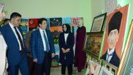 AKMEK Sanat Atölyesi'nde kursiyerin eserleri sergileniyor