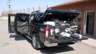 15 bin paket gümrük kaçağı sigara yakalandı