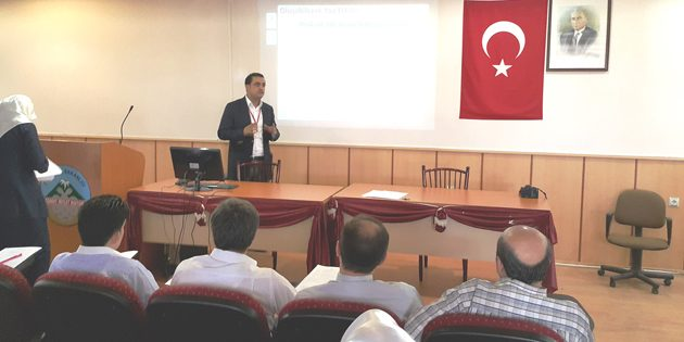 Aksaray Sağlık çalışanlarından TÜRKKÖK Projesi'ne destek
