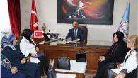 Aksaray Kadın Platformu üyelerinden Milli Eğitim'e ziyaret