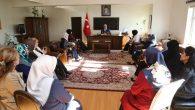 Aksaray Kadın Platformu ziyaretlerine devam ediyor