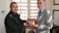Jandarma Bölge Komutanı Tuğgeneral Uğur Özcan'dan ziyaret