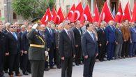 Cumhuriyet Bayramı Aksaray'da düzenlenen törenle kutlandı