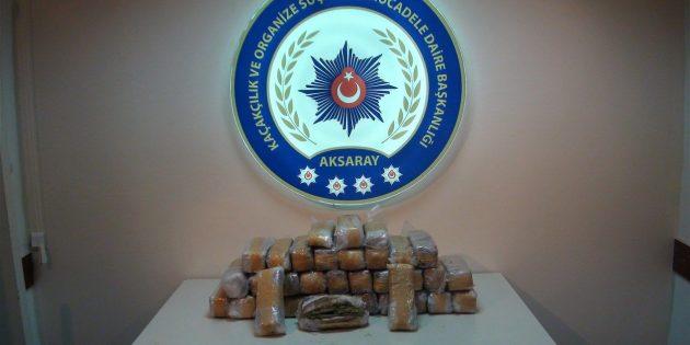 Aksaray Emniyeti'nden 9 ayda 25 milyon TL değerinde operasyon