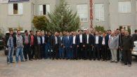 Ak Parti heyeti OSB'de iş adamları ile buluştu