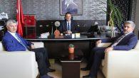 Rektör Şahin Şereflikoçhisar'da ziyaretlerde bulundu