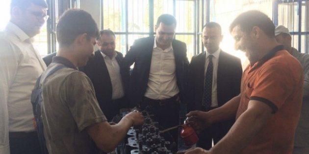 Sanayi esnafı Milletvekili Yaldır'ı bağrına bastı