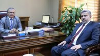 Rektör Şahin'den kurum ziyaretleri