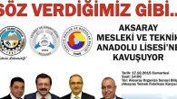 Bakanlar ve TOBB Başkanı Aksaray'a geliyor