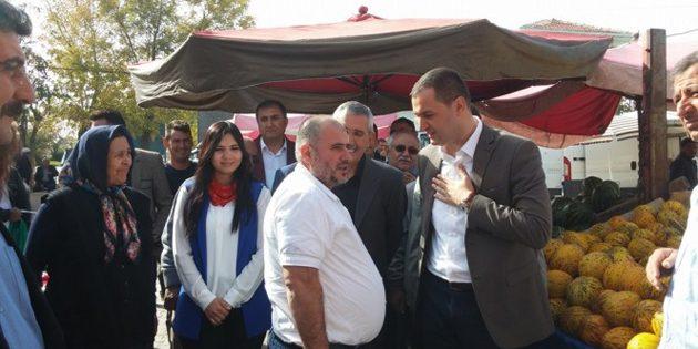 MHP Milletvekili Adayları Yeşilova'da coşkuyla karşılandı